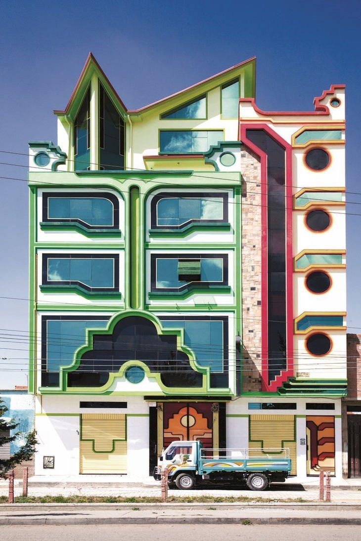 אדריכלות אנדית באל אלטו בוליביה