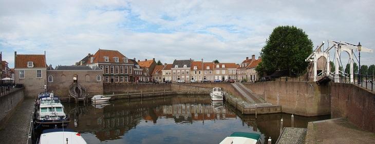 מסלול טיול בדרום הולנד: העיירה הוזדן