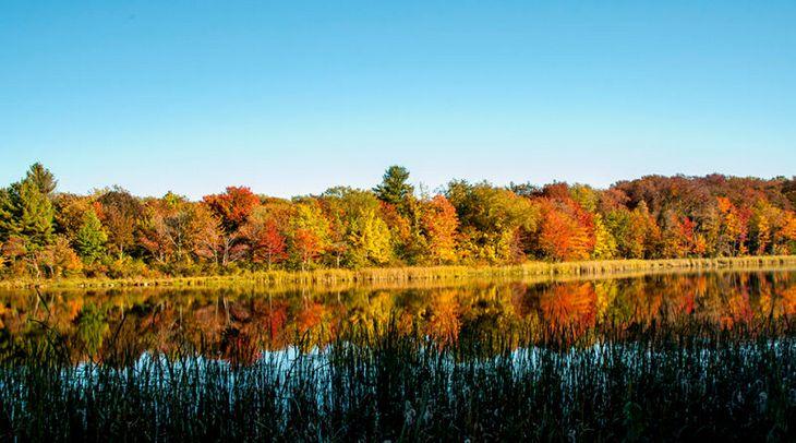 """עונת הסתיו במקומות שונים בעולם: ניו אינגלנד, ארה""""ב"""