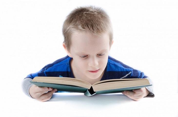 מיתוסים על גידול ילדים דו לשוניים: ילד קורא בספר