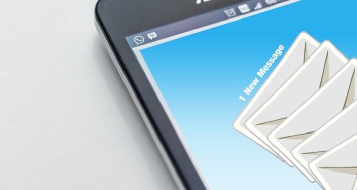 אפליקציית CamScanner: שליחת דואר דרך הטלפון הנייד