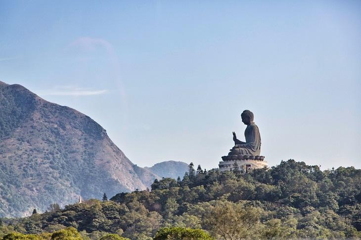 אטרקציות בהונג קונג: פסל בודהה טיאן טאן