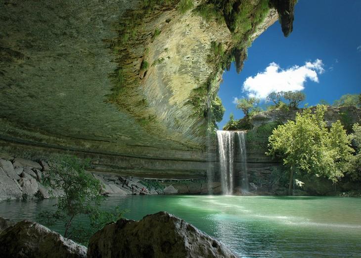 מקומות יפים: בריכת המילטון בטקסס