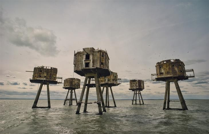 תמונות מרהיבות מאתרים היסטוריים בעולם: מבצרי מונסול, שפך התמזה אנגליה - Mark Edwards