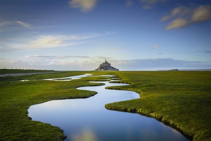 תמונות מרהיבות מאתרים היסטוריים בעולם: מון סן מישל, צרפת – Daniel Burton