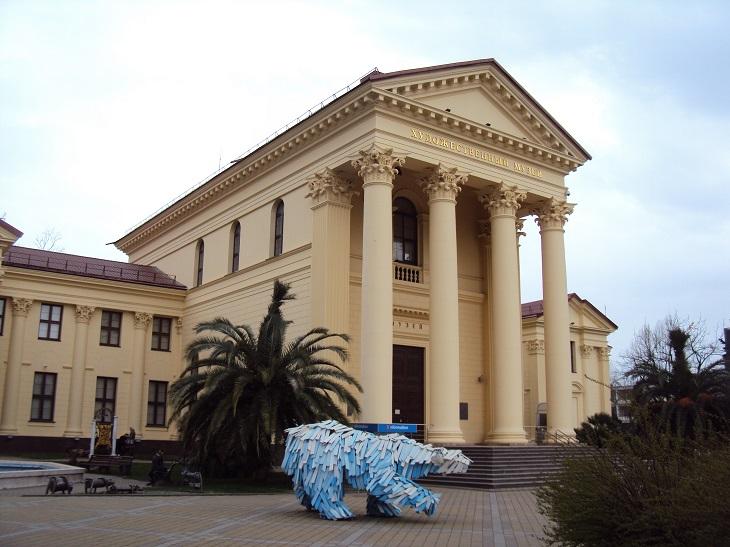 אטרקציות בסוצ'י: מוזיאון האמנות של סוצ'י