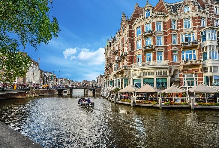 מסלול טיול בצפון הולנד: תעלות באמסטרדם