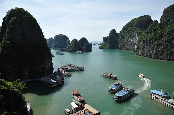 היעדים היפים ביותר בווינטאם: מפרץ הא לונג