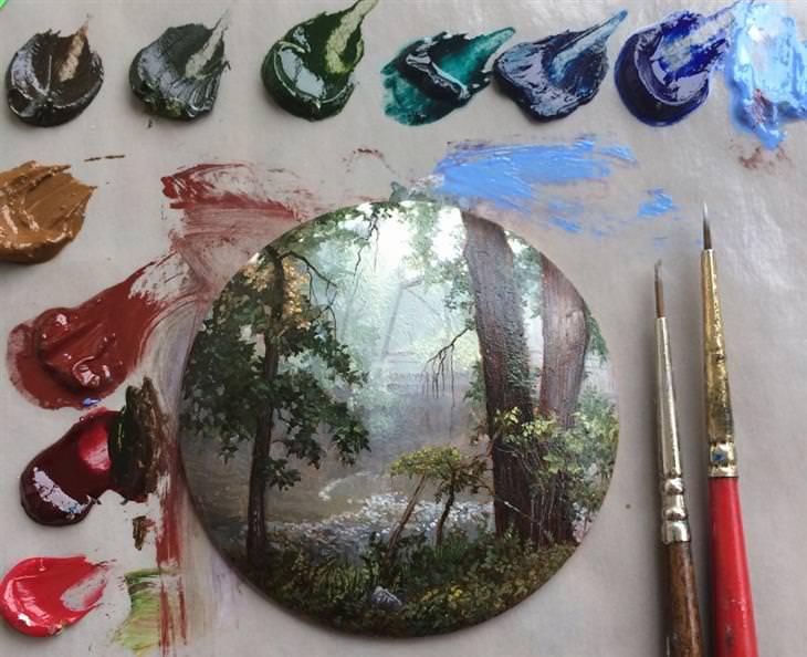 ציורי הטבע של דינה ברודסקי