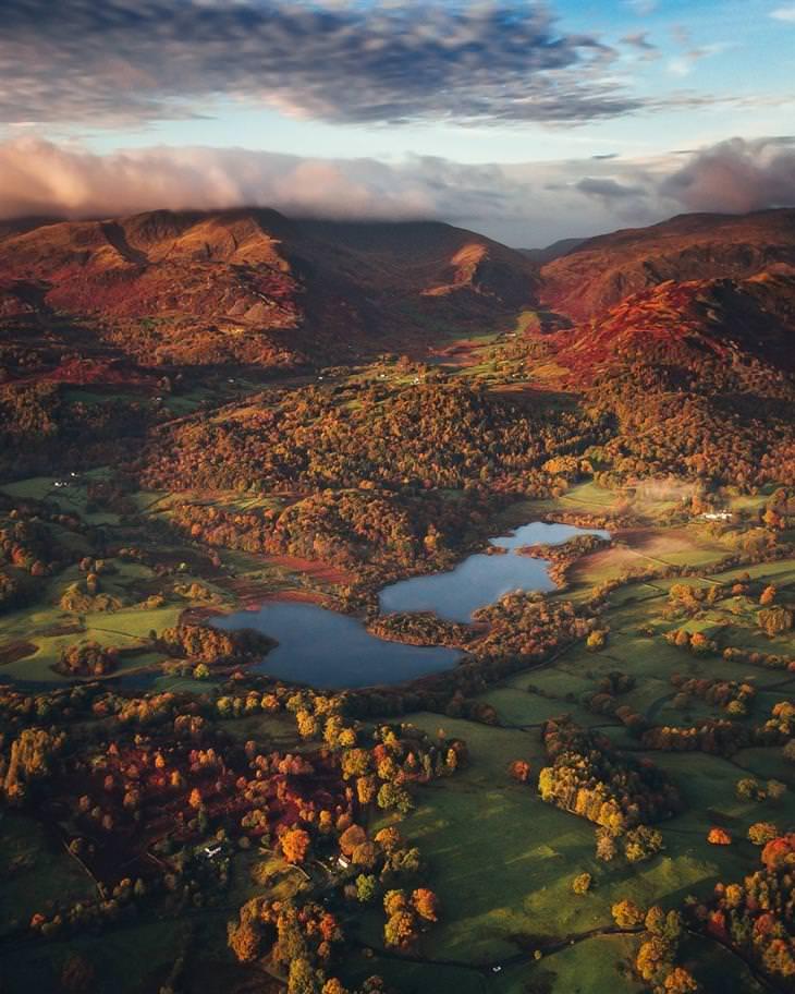 תמונות טבע מדהימות מרחבי העולם: אזור האגמים