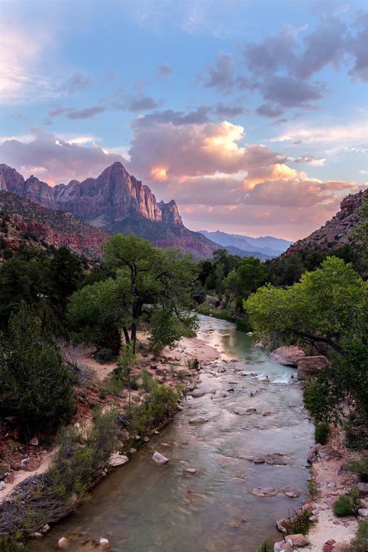 תמונות טבע מדהימות מרחבי העולם: הפארק הלאומי ציון