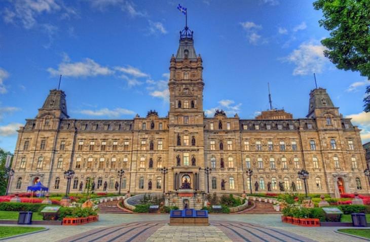 ערים ופארקים בקנדה: מבנה ממשלתי בקוויבק סיטי