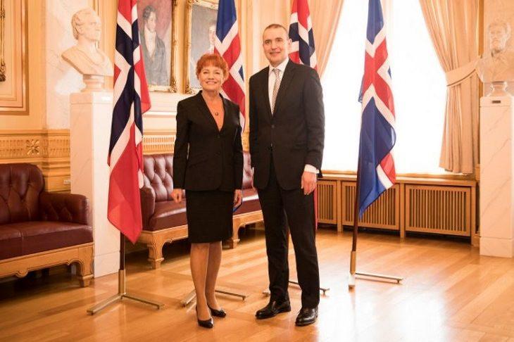 נשיא איסלנד - גודני יוהאנסון