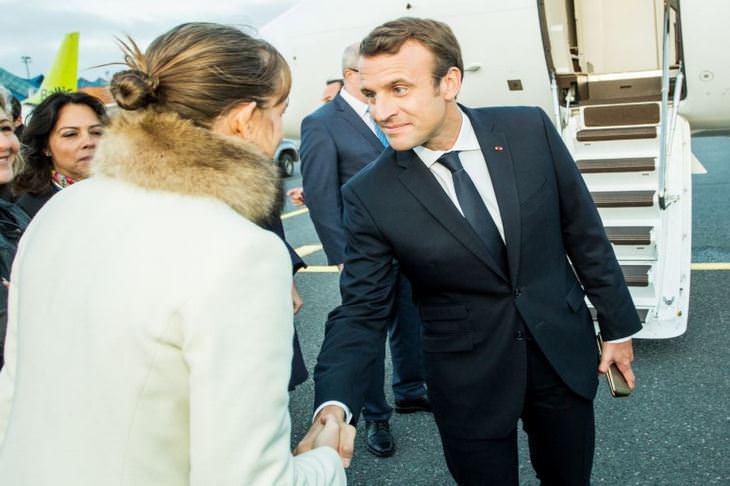 ראש ממשלת צרפת – עמנואל מקרון