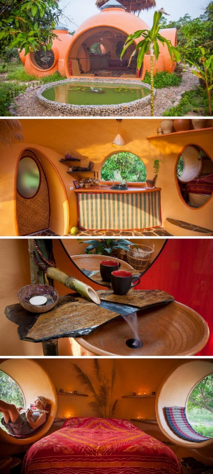 בתים מיוחדים מרחבי העולם: בית כתום ומיוחד