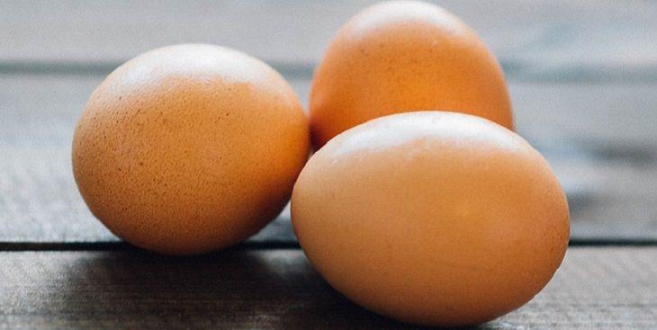 מצרכים למראה עור נהדר: ביצים