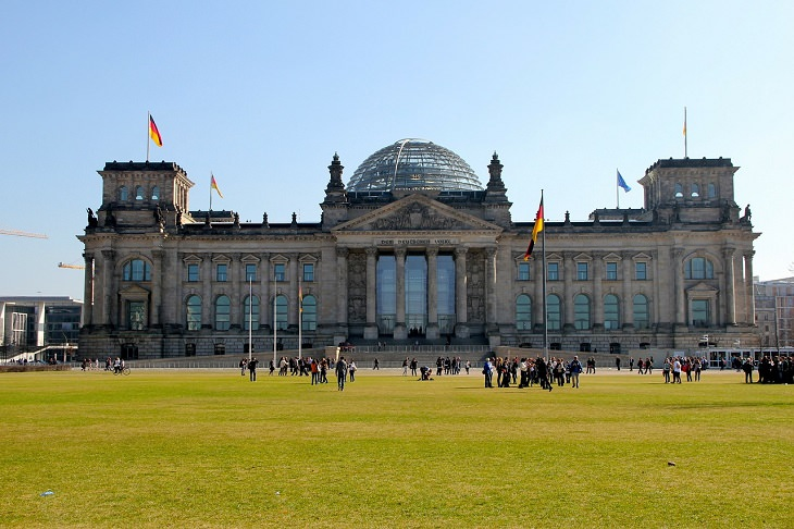 אטרקציות בברלין: בניין הרייכסטאג