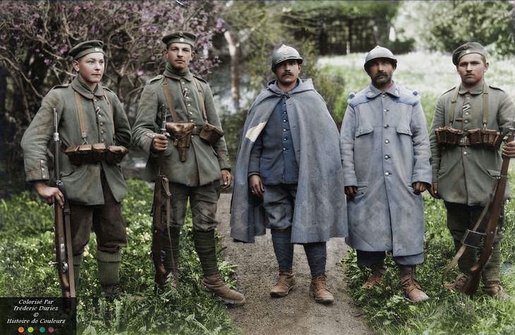 תמונות היסטוריות בצבע: