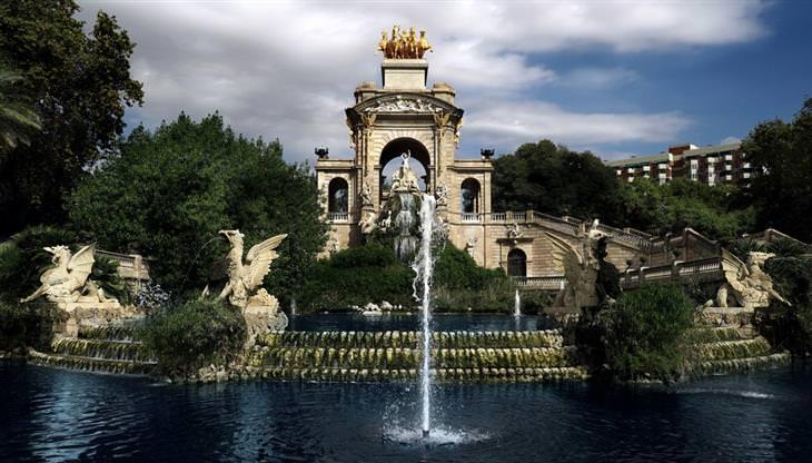 אטרקציות בברצלונה לכל המשפחה: פארק המצודה