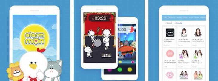 אפליקציות שעון מעורר: צילומי מסך של אפליקציית AlarMon