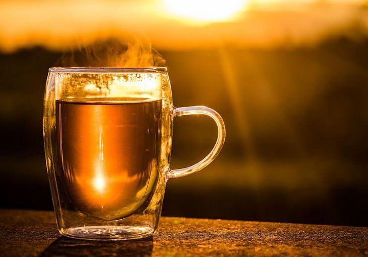 תגליות מדעיות: כוס תה