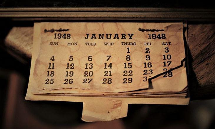 אושר במספרים: לוח שנה עתיק