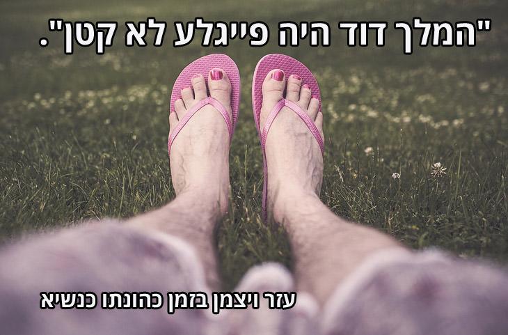 """ציטוטים מביכים של פוליטיקאים ישראלים: """"המלך דוד היה פייגלע לא קטן"""". עזר ויצמן"""