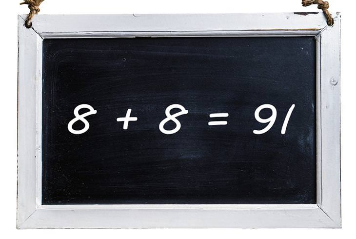 חידות: 8+8=91