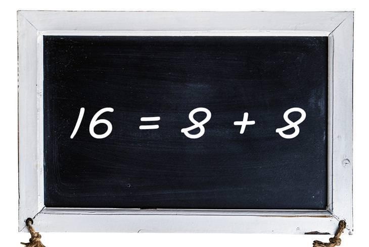 חידות: 16=8+8