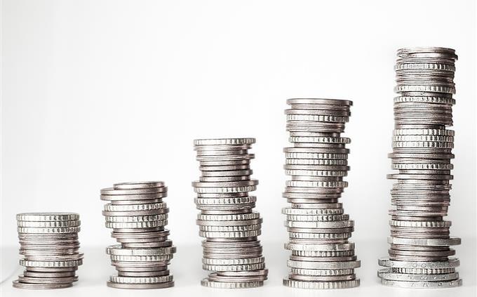 טריוויה: מטבעות מסודרים כמו גרף עולה