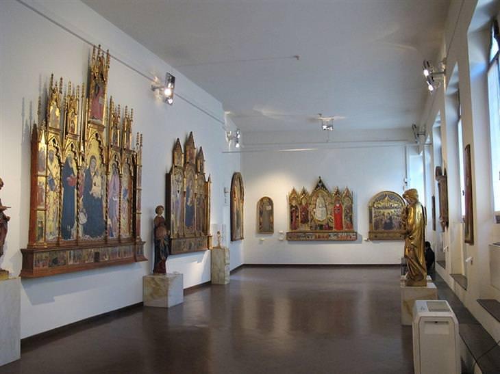 אטרקציות בסיינה: המוזיאון הלאומי של סיינה