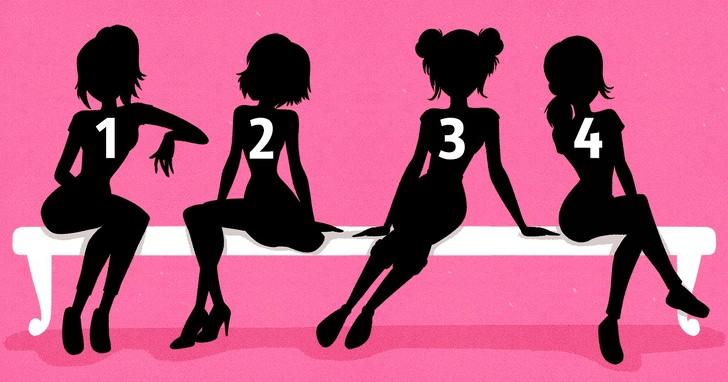 איזו דמות היא הכי מוצלחת: צלליות של ארבע נשים