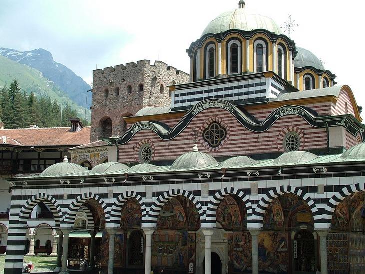 בולגריה: מנזר רילה