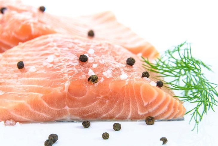 שיפור הפוריות הגברית: דג סלמון