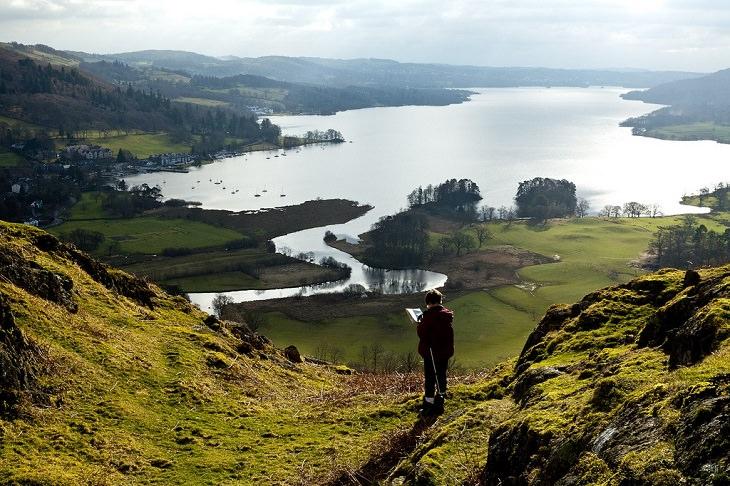 טיול לאזור האגמים באנגליה: אגם וינדרמיר