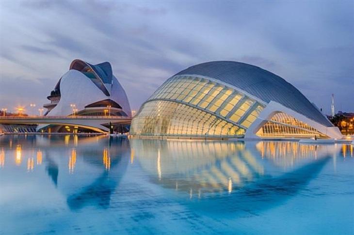 מסלול טיול שבועיים בספרד: עיר האמנויות והמדעים בולנסיה