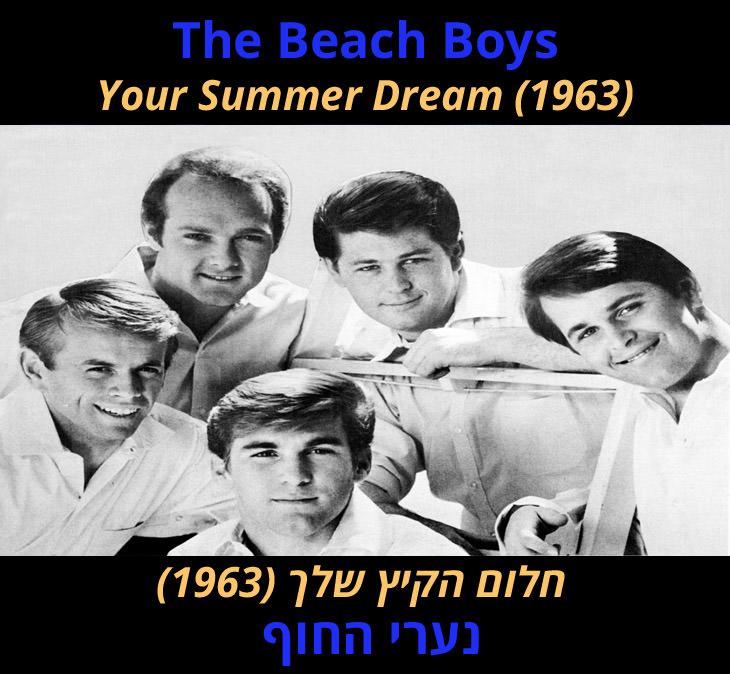 """מצגת שיר """"חלום הקיץ שלך"""": נערי החוף"""
