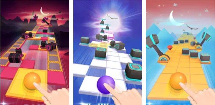 המלצות לאפליקציות משחקים: Rolling Sky