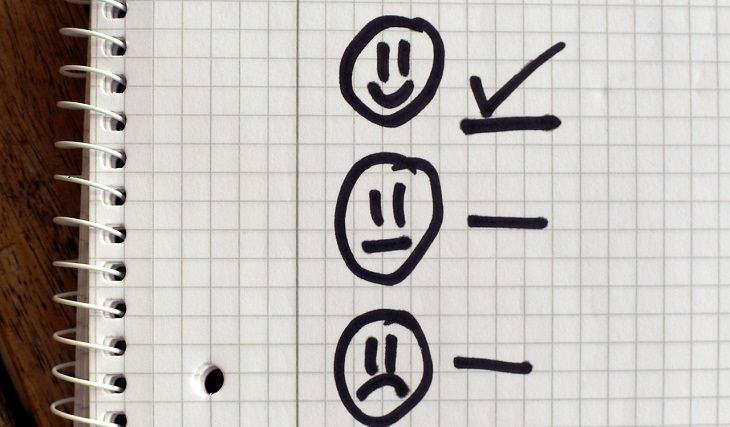 כוח רצון: סימון פרצופים במחברת