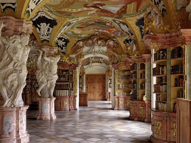 ספריות יפות: ספריית מנזר מטן