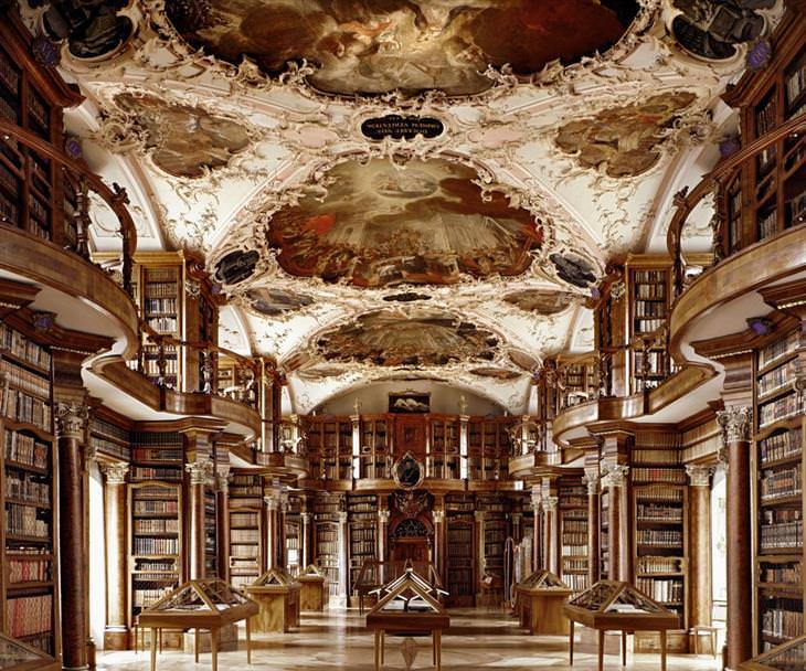 ספריות יפות: ספריית מנזר סנט גאלן