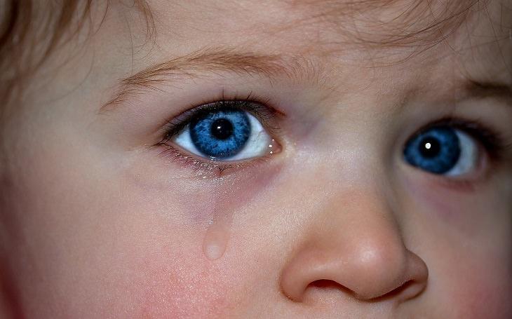 עצות להורים ששולחים את ילדיהם לגן: עיניי ילד דומעות