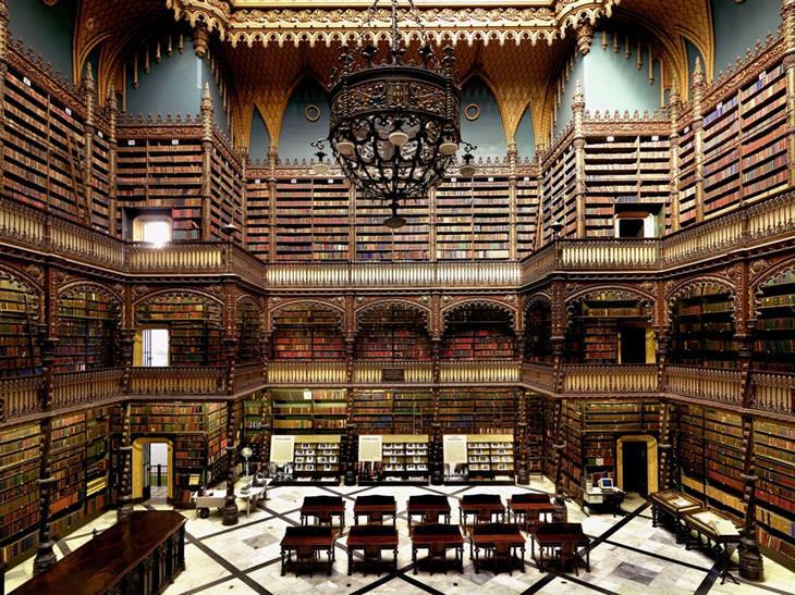 ספריות יפות: הקבינט הפורטוגזי המלכותי לספרות