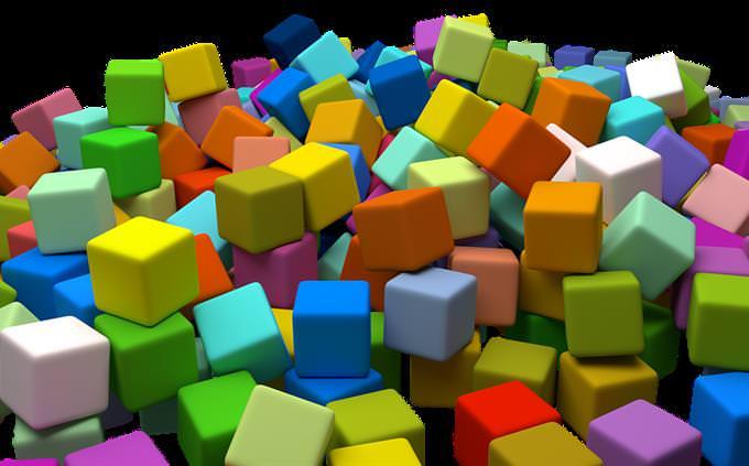 מבחן זיכרון: קופסאות צבעוניות