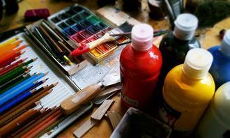 מבחן אישיות: חומרי ציור