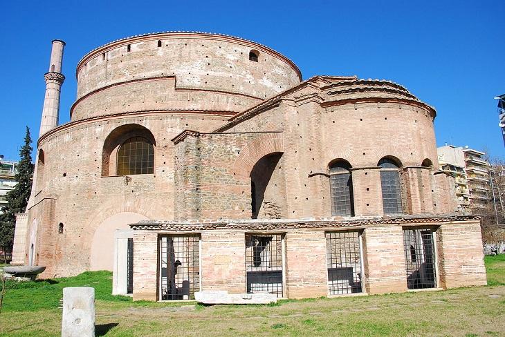 9 מהמקומות המומלצים ביותר בסלוניקי: רוטונדה רומית – כנסיית סנט גאורגיוס (Roman Rotunda)