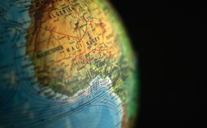 מבחן ידע כללי: יבשת אפריקה על הגלובוס