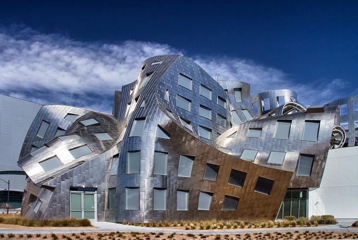 מבנים בעיצוב פרנק גרי: מרכז לואו רובו לבריאות המוח