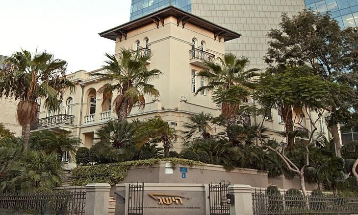 מבנים היסטוריים בתל אביב: בית השגרירות הרוסית