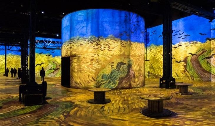 תערוכה חדשנית עם ציוריו של ואן גוך: שדה